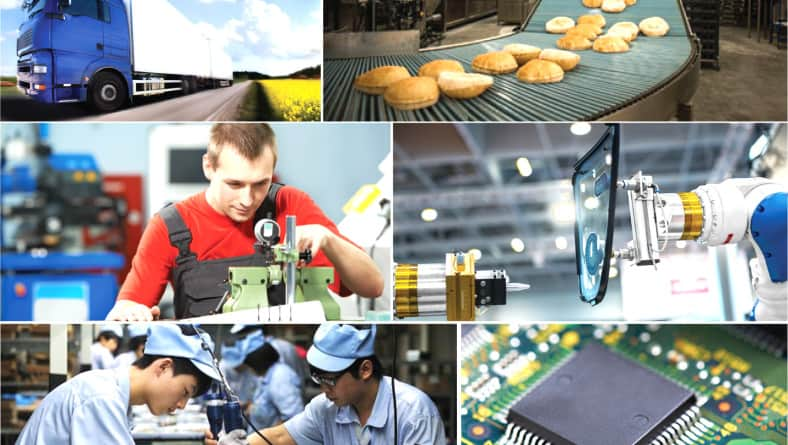 6 Industrial of Manufacturer Field