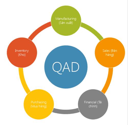 QAD ERP Modules