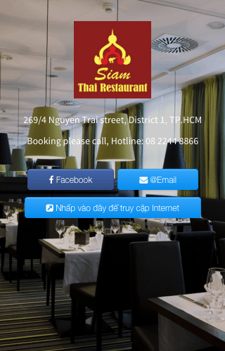 WiFi Marketing-SIAM Thái restaurant
